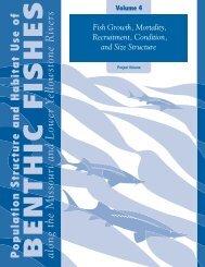 Volume 4 Missouri River Benthic Fish Report - Iowa Cooperative ...