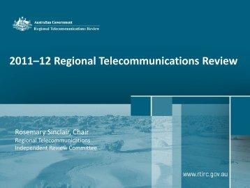 Presentation - Australian Communications Consumer Action Network