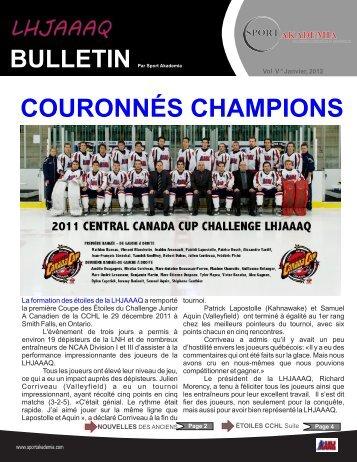 Janvier - Publication Sports