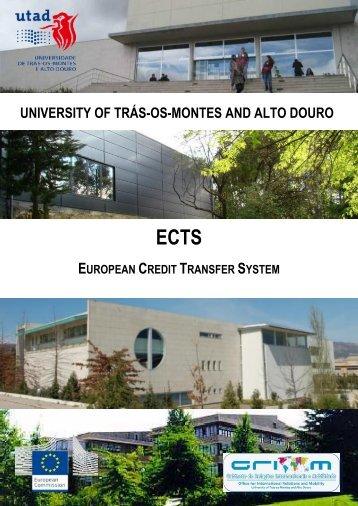 ECTS at UTAD