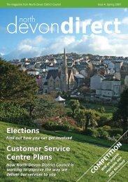 North Devon Direct Spring 07 - North Devon District Council