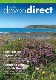 North Devon Direct summer 06 - North Devon District Council