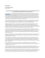 Canada-Portland Tar Sands Pipeline Hits Strong ... - Sierra Club