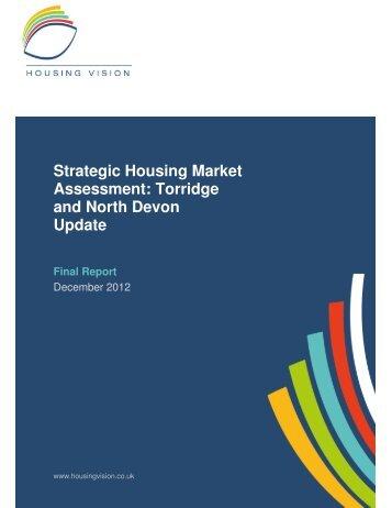 Strategic Housing Market Assessment - North Devon District Council
