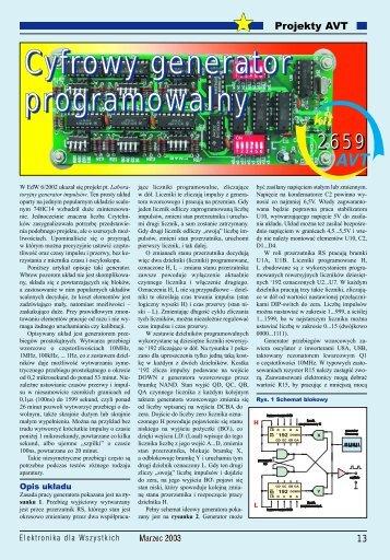 Cyfrowy generator programowalny - Elportal