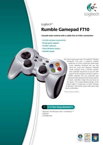 Rumble Gamepad F710 - ACME