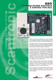 comunicatore digitale e sintesi vocale ... - Cooper Security