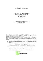 • CABEZA MUERTA - festival de dramaturgia europea