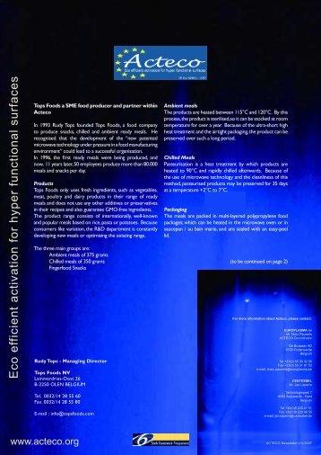 Acteco newsletter 4
