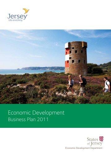 Economic Development 2011 business plan - States of Jersey