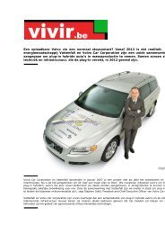 Een oplaadbare Volvo via een normaal stopcontact? Vanaf 2012 is ...