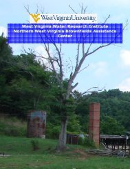 2006-2007 NBAC Annual Report - West Virginia Brownfields ...