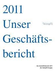 Der Geschäftsbericht 2011 der Stämpfli Gruppe