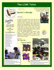 The LCMS Talon - Lawton Chiles Middle School