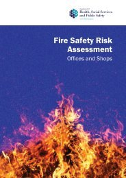 Fire Safety Risk Assessment - Northern Ireland Fire & Rescue Service