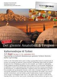 Det glemte Anatolien & Frygien - Team Benns