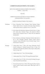 pemerintah propinsi daerah istimewa yogyakarta - Biro Hukum ...