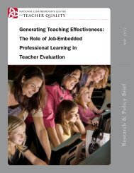 Generating Teaching Effectiveness - Kentucky Department of ...