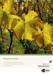 Vineyard services pack 2011 - In-Field Ag. Pty. Ltd