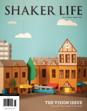 THE VISION ISSUE - City of Shaker Heights