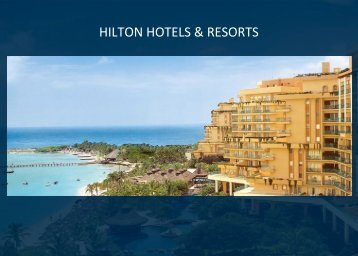 HILTON HOTELS & RESORTS - Hilton Worldwide