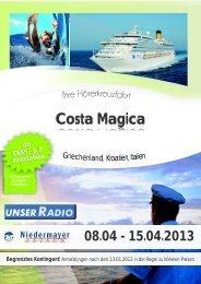 costa magica - Reisebüro Niedermayer Reisen