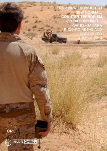 Sahel-Sahara-report