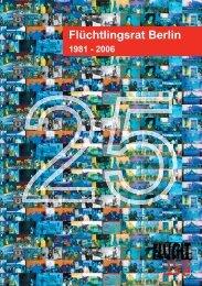 Festschrift zum 25-jährigen Jubiläum als PDF-Datei - Flüchtlingsrat ...