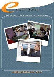 1 KURSUSKATALOG 2012 - Energitjenesten