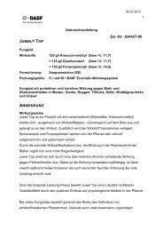 GA Juwel Top - BASF Pflanzenschutz Österreich