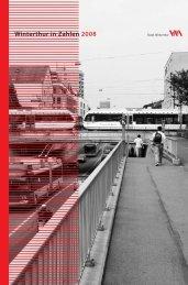 Winterthur in Zahlen 2008 - Stadtentwicklung - Winterthur