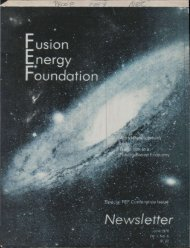 perspectives for fusion development