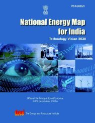 Technology Vision 2030 - The Energy and Resources Institute
