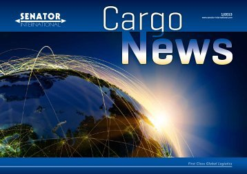 To download the PDF document Cargo News, click here. - Senator ...