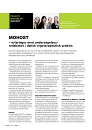 [pdf] MOHOST - Ergoterapeutforeningen