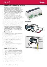 Einlinien DALI Digidim Router (905) - Helvar
