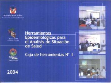 I. Epïdemlologlcas para - Bvs.minsa.gob.pe - Ministerio de Salud