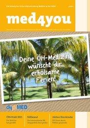 Deine ÖH-Medizin wünscht dir erholsame Ferien! - ÖH Medizin Wien