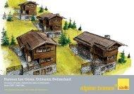 Hameau Les Gères, Grimentz, Switzerland - Ski chalets for sale