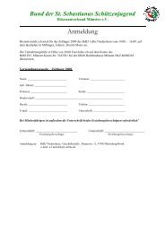 Anmeldung Zeltlager 2009 - Bezirksverband Kleve