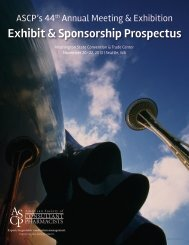 Exhibit & Sponsorship Prospectus - American Society of Consultant ...