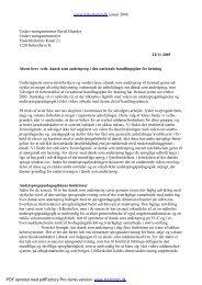 Åbent brev om dansk som andetsprog - Folkeskolen