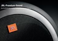 JBL-Premium-Sound - Toyota