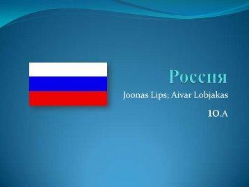 Joonas Lips; Aivar Lobjakas