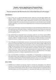 Pronunciamiento 28 de Junio de 2011 - Hirschfeld-Eddy-Stiftung