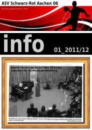 Infoheft 01_2011/2012 - Schwarz-Rot