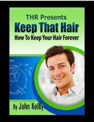 Keep That Hair - Block PGD2