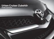 Urban Cruiser Zubehör - Toyota