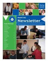 Newsletter - Registered Nurses Association of the Northwest ...