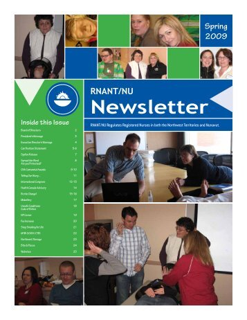 Newsletter - Registered Nurses Association of the Northwest ...